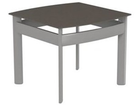 Tropitone Kor Aluminum 21 Square End Table
