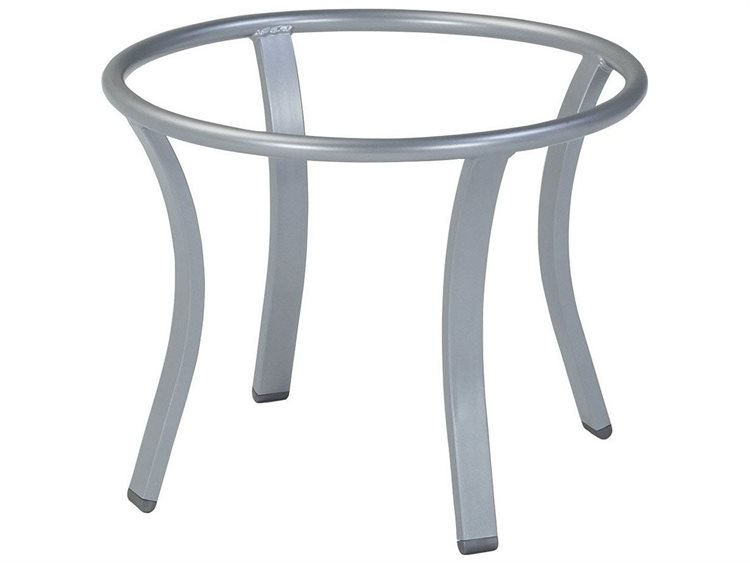 Attirant Tropitone Bases Cast Aluminum Round Coffee Table Base Only 21H