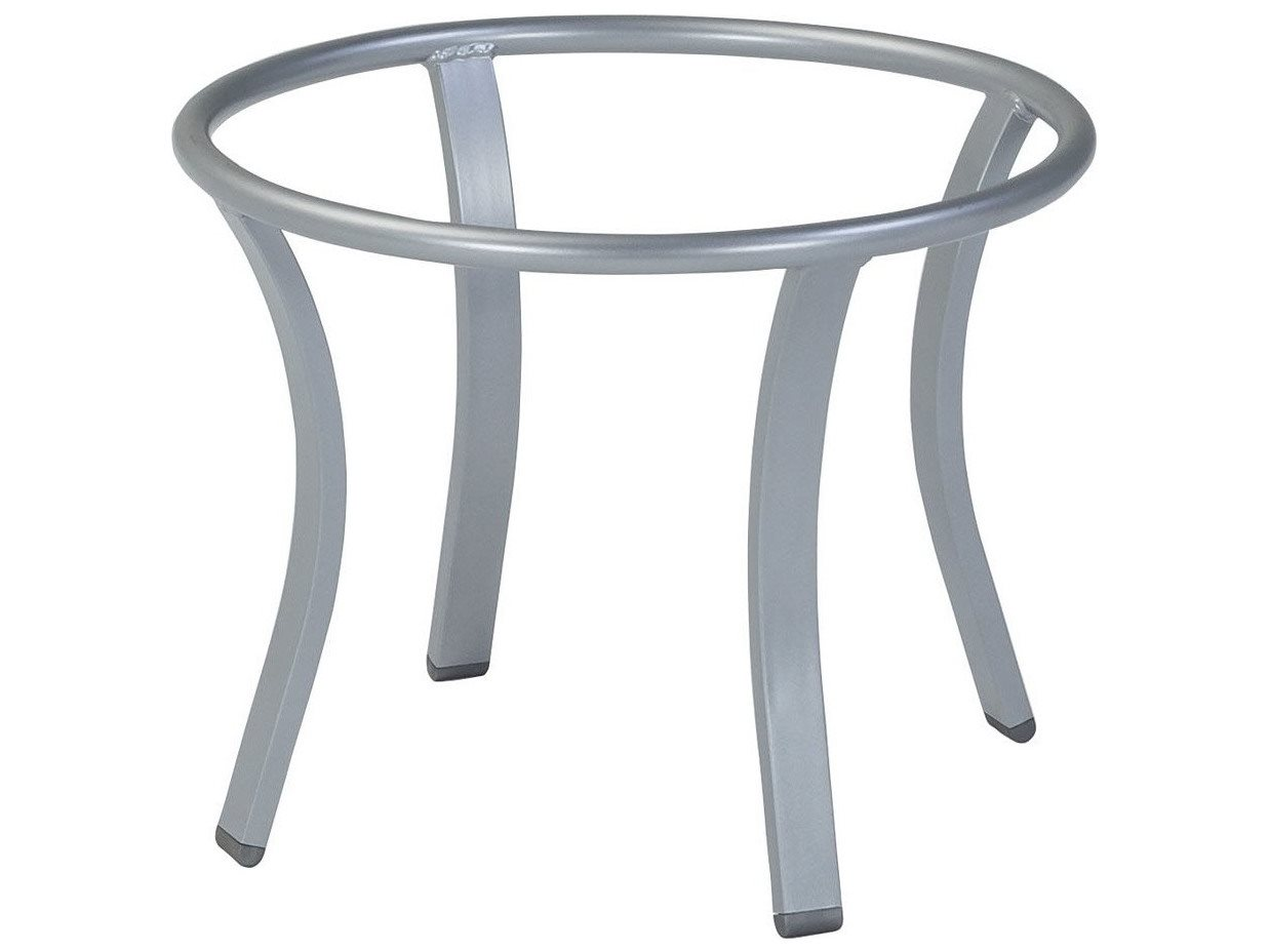 Tropitone Bases Cast Aluminum Round Coffee Table Base Only 21h