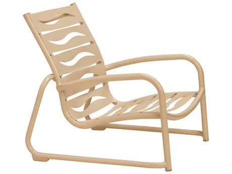 Tropitone Millennia Wave Segment Aluminum Stackable Sand Chair