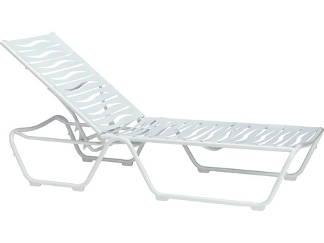 Tropitone Millennia Wave Segment Aluminum Adjustable Chaise