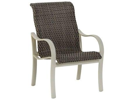 Tropitone Shoreline Woven Aluminum Dining Arm Chair