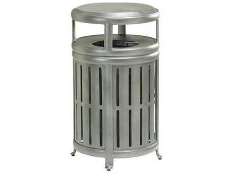 Tropitone Radiance Waste Aluminum Receptacle with Hood