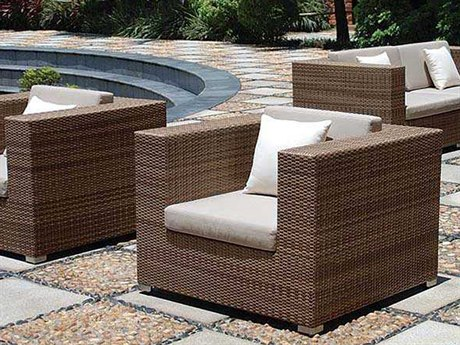Tropitone Arzo Woven Cushion Lounge Set