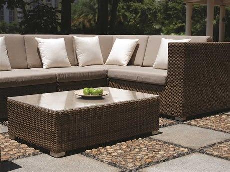 Tropitone Arzo Woven Cushion Sectional Set
