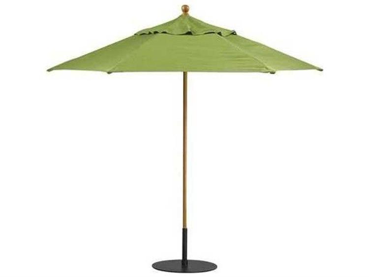 Tropitone Portofino Aluminum 8.5' Octagon Manual Lift Umbrella