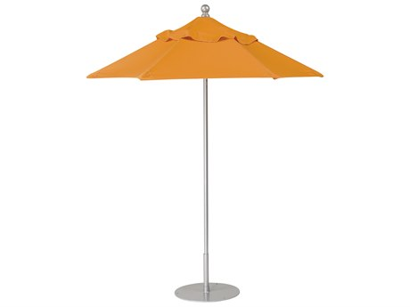 Tropitone Portofino II Aluminum 7' Hexagon Manual Lift Umbrella