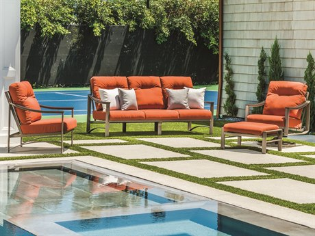 Tropitone Brazo Cushion Aluminum Lounge Set