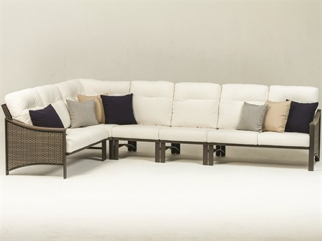 Tropitone Brazo Woven Modular Cushion Sectional Set