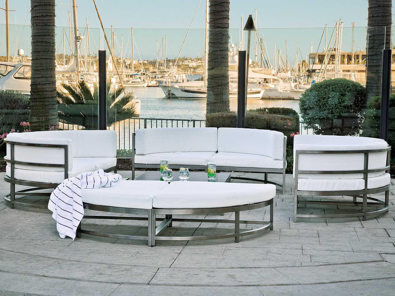 Tropitone Cabana Club Aluminum Sectional Lounge Chair