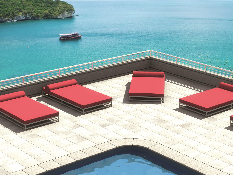 Tropitone Cabana Club Aluminum Cushion Party Lounge Set Tpcbnaclbalmlngset