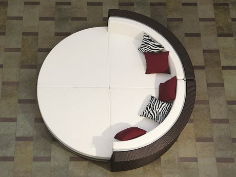 Tropitone Cabana Club Woven Sectional Lounge Set