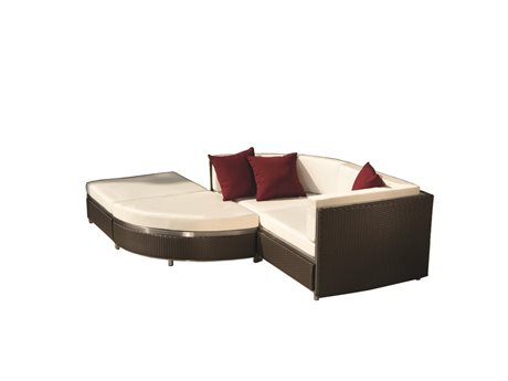 Tropitone Cabana Club Woven Sectional Set