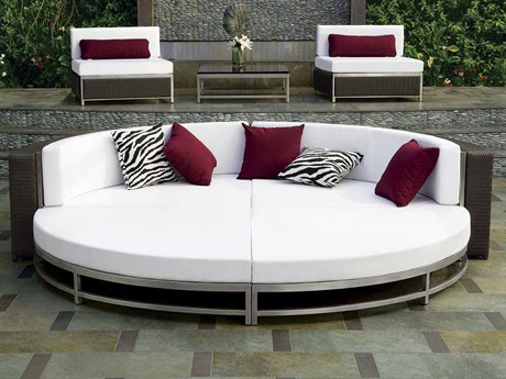 Tropitone Cabana Club Woven Sectional Lounge Set
