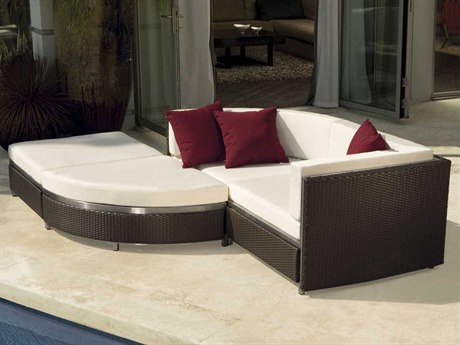 Tropitone Cabana Club Woven Lounge Set