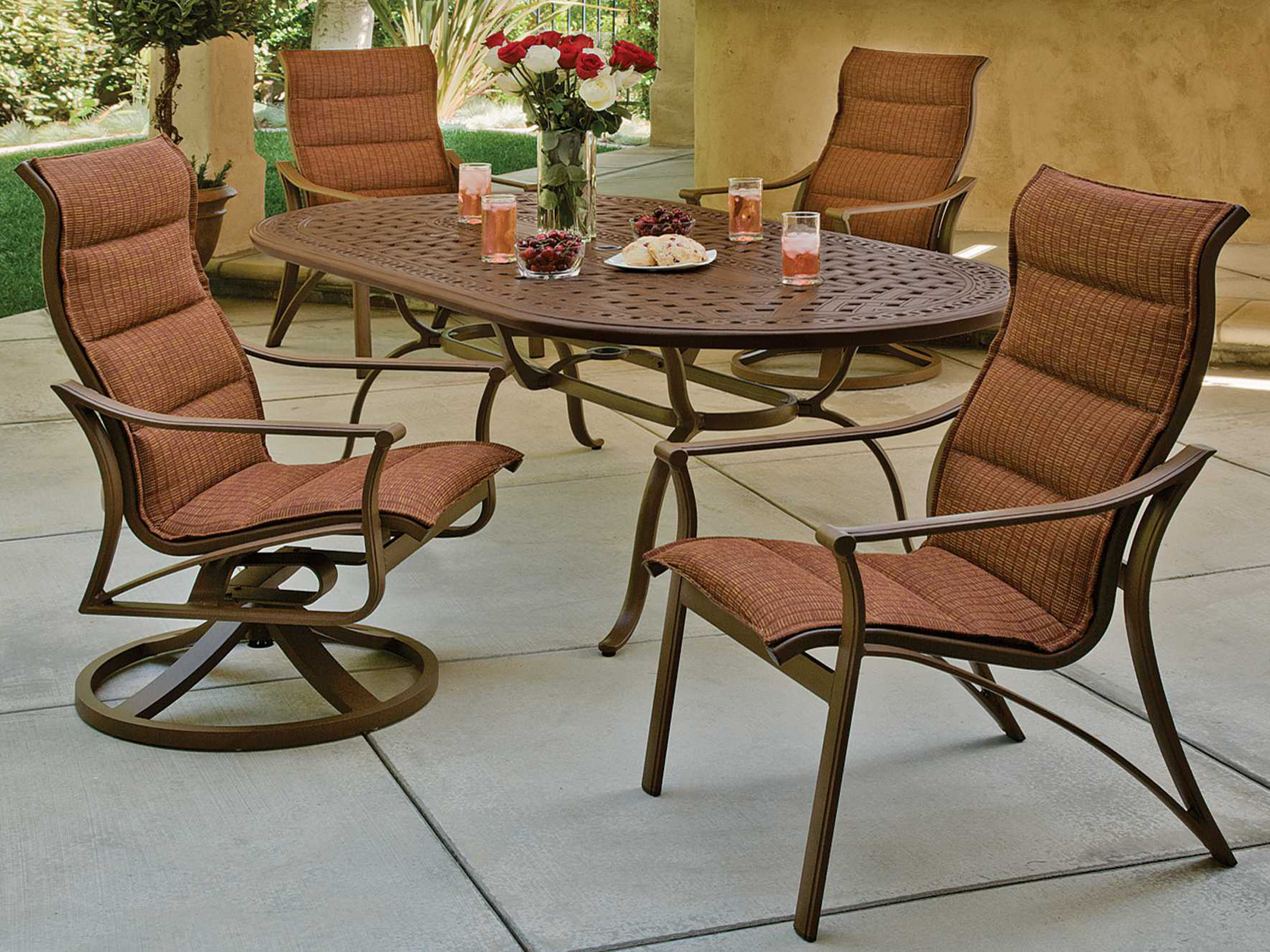 table piece oval reviews co darby dining pdx home with patio set wayfair beadle aluminum outdoor cushions cast