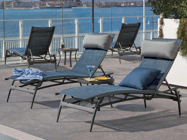 Tropitone Echo Sling Aluminum Chaise Lounge