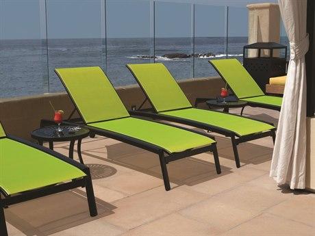 Tropitone Elance Relaxed Sling Aluminum Lounge Set