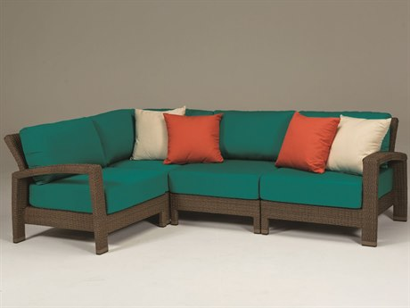 Tropitone Evo Woven Deep Seating Sectional  Set