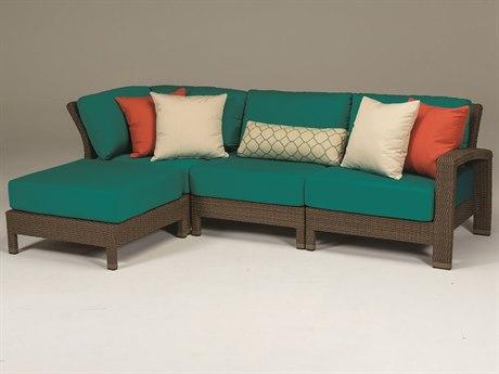 Tropitone Evo Woven Deep Seating Sectional Set