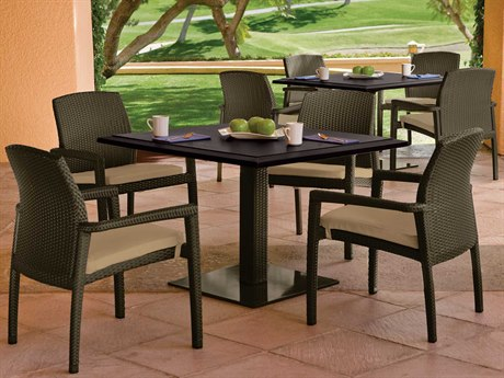 Tropitone Evo Woven Dining Set PatioLiving