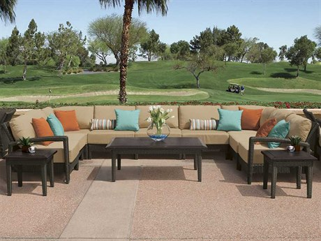 Tropitone Evo Woven Deep Seating Lounge Set Ewdswr