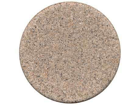 ... Tropitone Stoneworks Faux Granite Stone 20 Round Table Top
