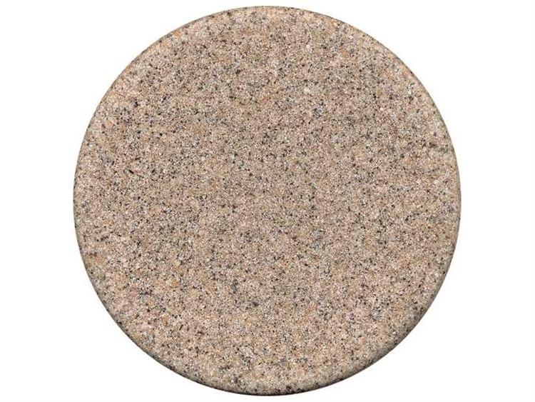 Tropitone Stoneworks Faux Granite Stone 36 Round Solid Table Top With Umbrella Hole Tpfg36ru