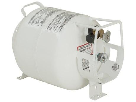 Tropitone Fire Pit 20 lb Horizontal Liquid Propane Tank
