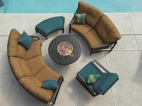 Tropitone Kenzo Cushion Aluminum Lounge Set