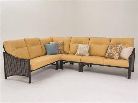 Tropitone Kenzo Woven Sectional Lounge Set