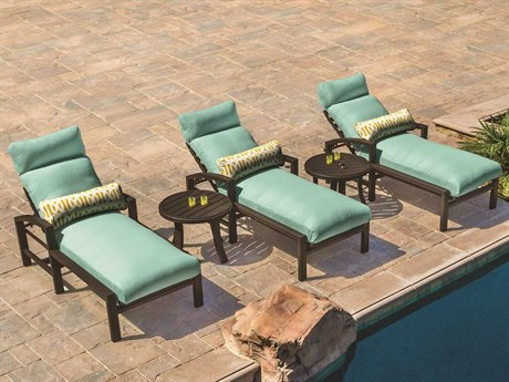 Tropitone Lakeside Cushion Aluminum Lounge Set