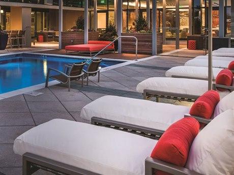 Tropitone Lakeside Cushion Aluminum Lounge Set