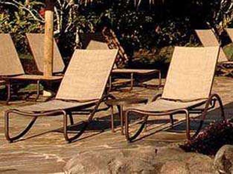 Tropitone La Scala Relaxed Sling Aluminum Lounge Set