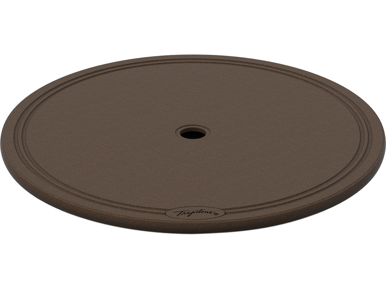 Lazy Susan With Umbrella Hole A