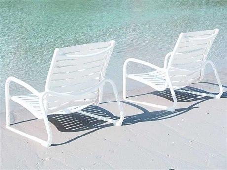 Tropitone Millennia Ribbon Segment Aluminum Lounge Set