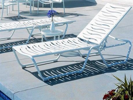 Tropitone Millennia Wave Segment Aluminum Lounge Set