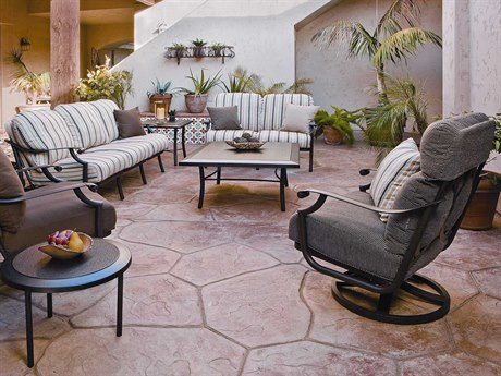 Tropitone Montreux Cushion Aluminum Lounge Set