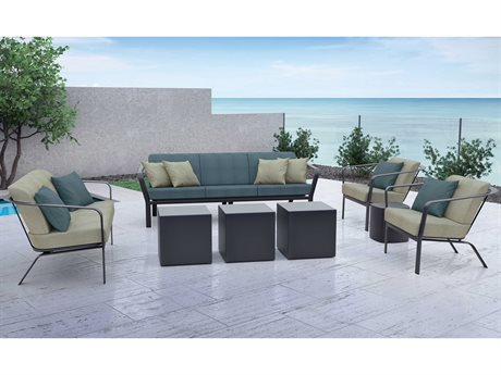 Tropitone Open Cushion Aluminum Lounge Set