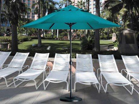 Tropitone Portofino 8.5' Aluminum Market Crank Umbrella