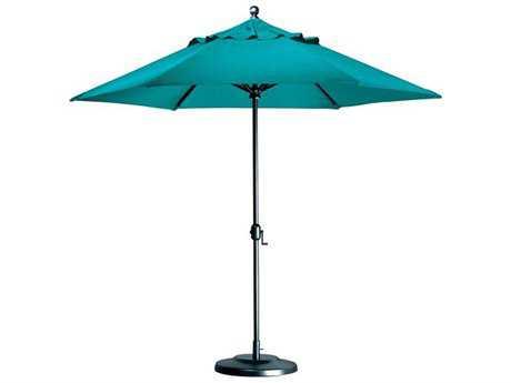 Tropitone Portofino Aluminum 9.5' Octagon Crank Lift Umbrella