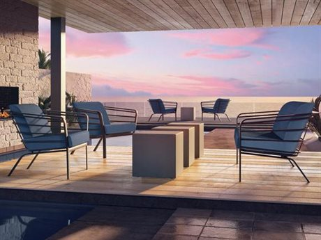 Tropitone Prime Cushion Aluminum Lounge Set