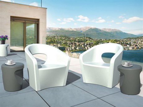 Tropitone Radius Marine Grade Polymer Lounge Set