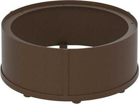 Tropitone Fire Pit Aluminum Round Riser Counter Height