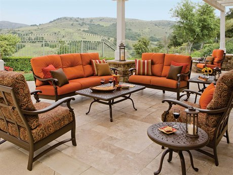 Tropitone Ravello Cushion Aluminum Deep Seating Lounge Set