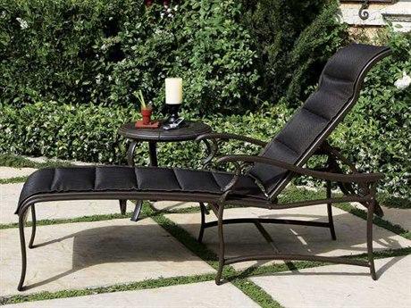 Tropitone Ravello Padded Sling Aluminum Lounge Set