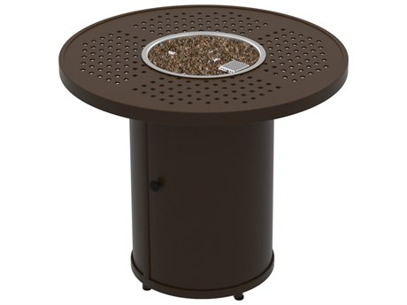 Tropitone Boulevard Fire Pits - Manual Ignition30 Round Fire Pit (15 1/2 round base)
