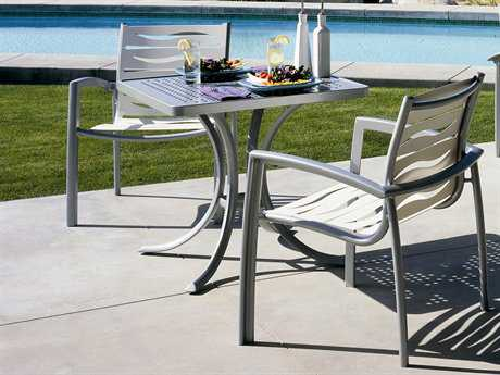 Tropitone South Beach Wave Aluminum Dining Set