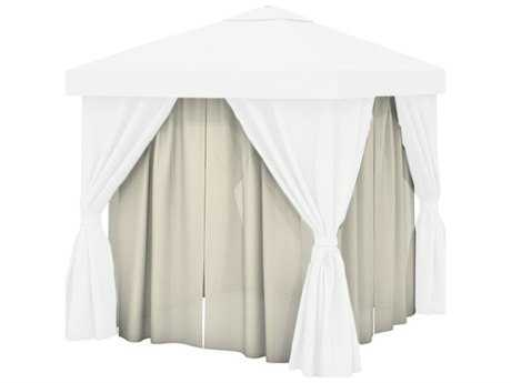 Tropitone Cabana Sheer 10' - 12180 Mist Snow - Sheer Interior Curtains Only