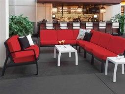 South Beach Sectional Aluminum Lounge Set